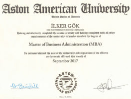 Aston-American-University-isletme-Yonetimi-Yuksek-Lisansi-(MBA)-Diplomasi