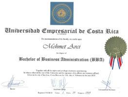 Business-University-of-Costa-Rica-(UNEM)-isletme-Yonetimi-Lisans-(BA)-Diplomasi